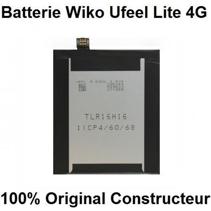 100% Original Batterie Wiko Ufeel Lite 4G