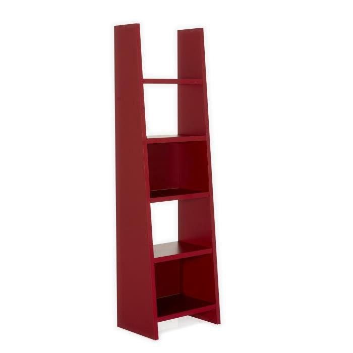 swag tag re rouge 5 tablettes rouge achat vente. Black Bedroom Furniture Sets. Home Design Ideas