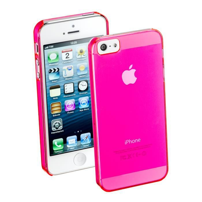 650585 coque fluo rose pour iphone 5 film achat. Black Bedroom Furniture Sets. Home Design Ideas