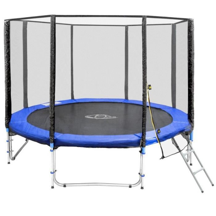 trampoline 305 cm 10 ft achat vente trampoline soldes d t cdiscount. Black Bedroom Furniture Sets. Home Design Ideas