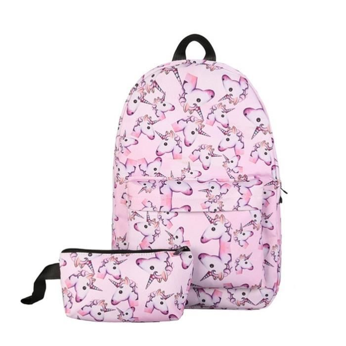 Unicorn École À Dos Sac Fashionble D'impression PiZTkXuO