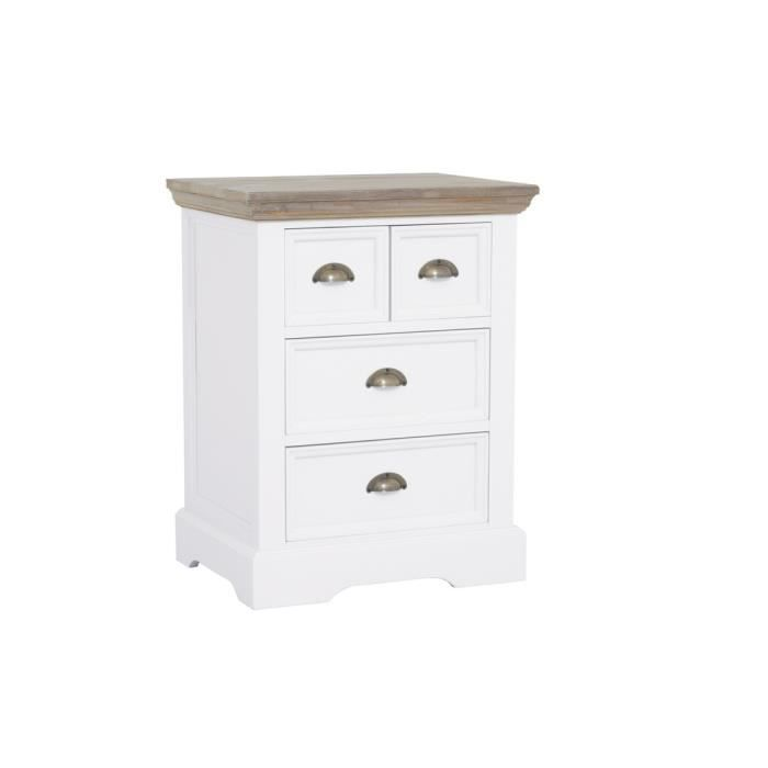dd0021 commode en pin blanc clatant achat vente commode de chambre dd0021 commode en pin. Black Bedroom Furniture Sets. Home Design Ideas