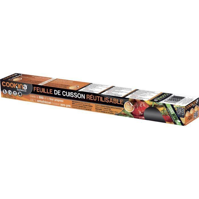FEUILLE DE CUISSON  Feuille de cuisson réutilisable Cookina