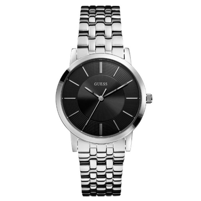 montre guess homme bracelet acier tendance achat vente montre soldes cdiscount. Black Bedroom Furniture Sets. Home Design Ideas