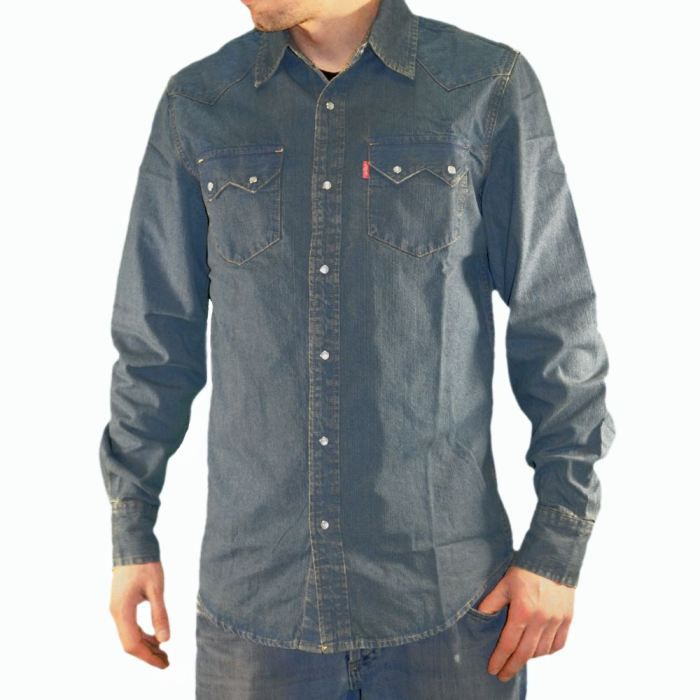 levis chemise en jean homme achat vente. Black Bedroom Furniture Sets. Home Design Ideas