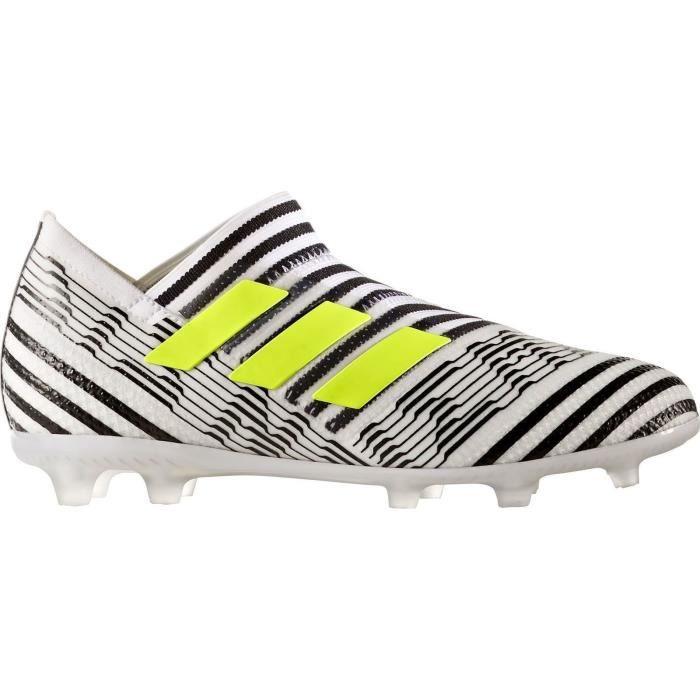 footwear classic styles competitive price ADIDAS - Adidas Nemeziz 17+ 360 agil blanc/noir/jaune - (36 ...