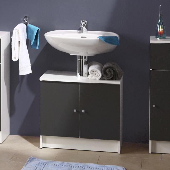 paris prix sous lavabo 2 portes remix gris achat vente meuble vasque plan paris prix. Black Bedroom Furniture Sets. Home Design Ideas