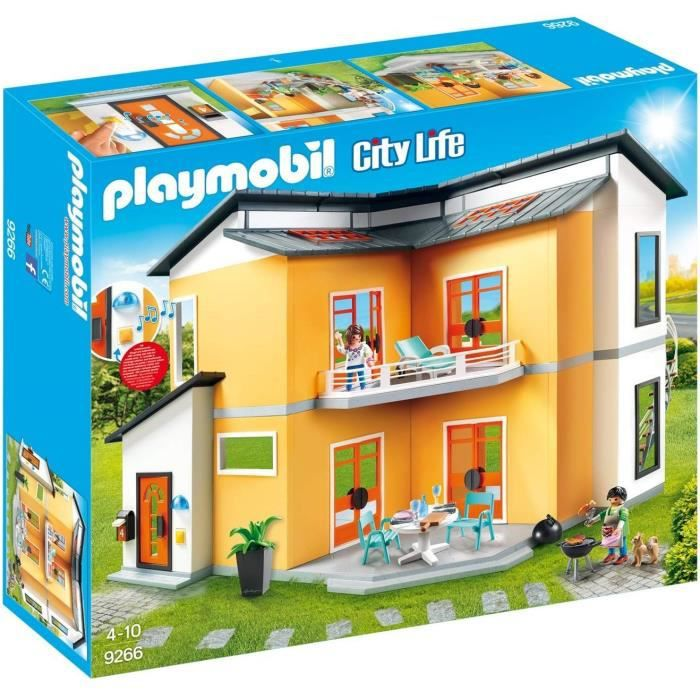 Photo de playmobil-9266-city-life-la-maison-moderne