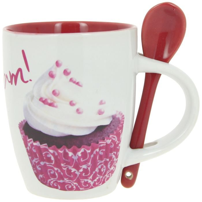 mug cuill re tasse caf design gourmand cupcakes achat. Black Bedroom Furniture Sets. Home Design Ideas