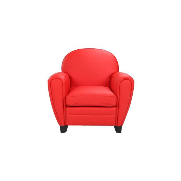 fauteuil club enfant rouge achat vente fauteuil cdiscount. Black Bedroom Furniture Sets. Home Design Ideas