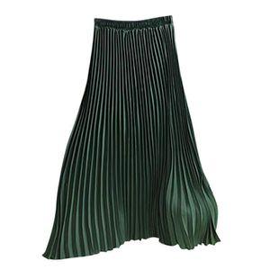 """Femmes Neuf Uni Qualité 8 Panel Flare Jupes Taille Élastique 31/"""" Lenght"""