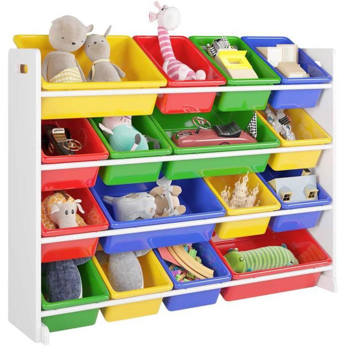 Etagere Pour Chambre Enfant homfa Étagère pour jouets enfants meuble de rangement de