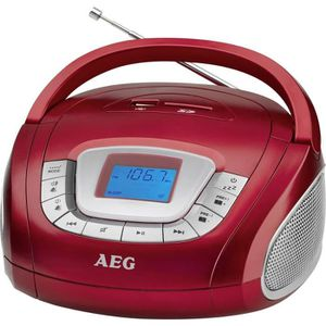 RADIO CD ENFANT Radio portable FM SR 4373 rouge