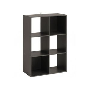 Bibliotheque 6 Cases Achat Vente Bibliotheque 6 Cases Pas Cher Cdiscount
