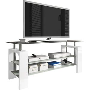 meuble tv en coin achat vente meuble tv en coin pas cher cdiscount. Black Bedroom Furniture Sets. Home Design Ideas