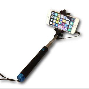 PERCHE - CANNE SELFIE Perche selfie à câble bleu