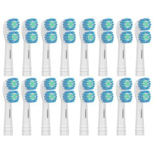 BROSSE A DENTS Candore® 16 Brossettes - Dual Zone SB417A - Têtes