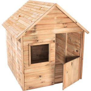 MAISONNETTE EXTÉRIEURE Cabane en bois pour enfant  MARINA