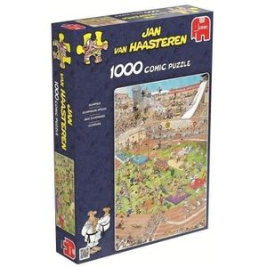 PUZZLE Puzzle 1000 Pièces - OLYMPIADE - Jan van Haasteren
