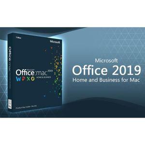 BUREAUTIQUE À TÉLÉCHARGER Microsoft Office 2019 Famille et Petit Entreprise