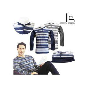 PYJAMA Pyjama homme Confort Chaleur Jean-Louis Scherrer®B