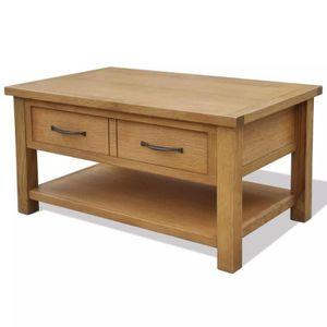 TABLE BASSE Table basse Chêne 88 x 53 x 45 cm