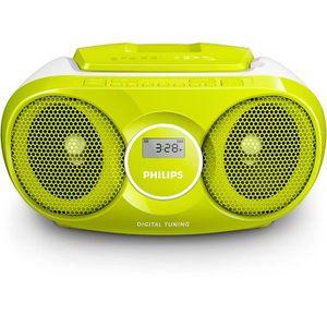 RADIO CD CASSETTE Philips - AZ215G - Radio-Radio-réveil Lecteur CD M