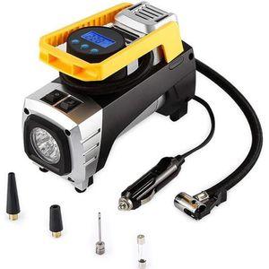 COMPRESSEUR AUTO GEKER Compresseur d'air Portable - 12 V - Automati