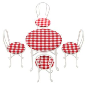 MAISON POUPÉE TEMPSA Mini Set Table à Manger Chaise Meuble Acces