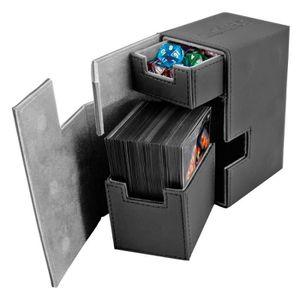 CARTE A COLLECTIONNER Ultimate Guard Boîte pour cartes XenoSkin Noir