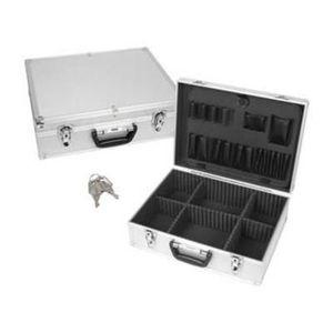 VALISE - BAGAGE Valise aluminium grise coffre alu 1819 0 perel 455