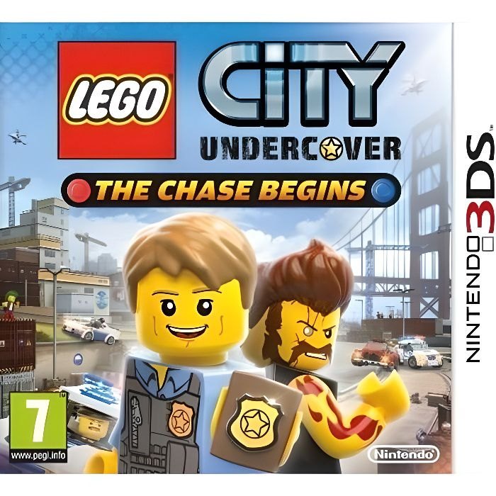 JEU 3DS LEGO City Undercover : The Chase Begins Jeu 3DS