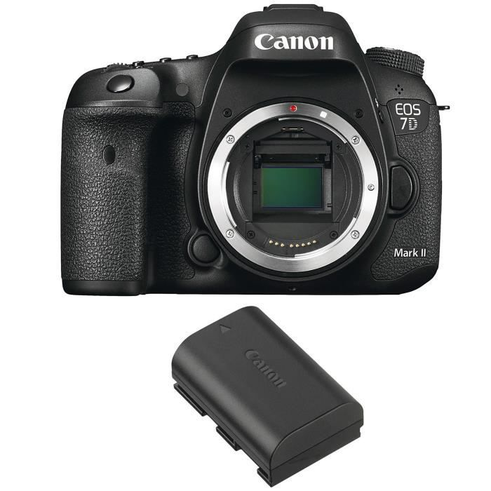 Canon EOS 7D Mark II + Canon LP-E6N