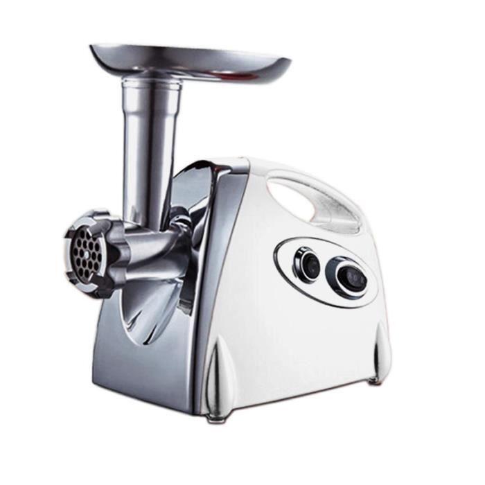 Hachoir à viande Ménage électrique multifonction automatique hachoir à viande sauce à l'ail lavements au poivre