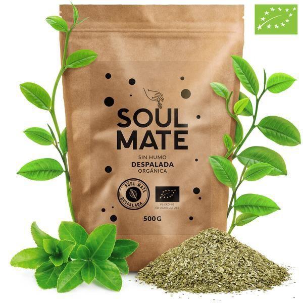 Yerba Maté Soul Mate Despalada - SOUL MATE SIN HUMO DESPALADA 500g - 100 % yerba maté despalada certifiée bio - Haute qualité - Fort
