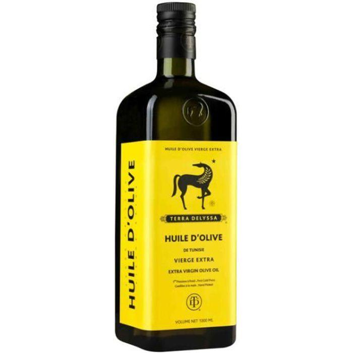 Huile d'olive extra vierge 1l TERRA DELYSSA