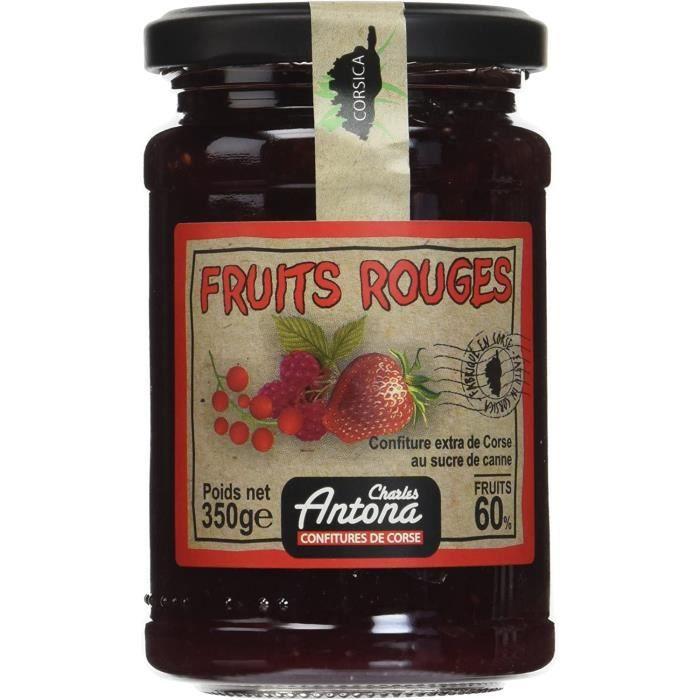 Confiture Extra de Fruits Rouges 350 g 41