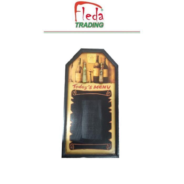 Tableau noir MENU du JOUR pour mur dim. Cm. 80x40