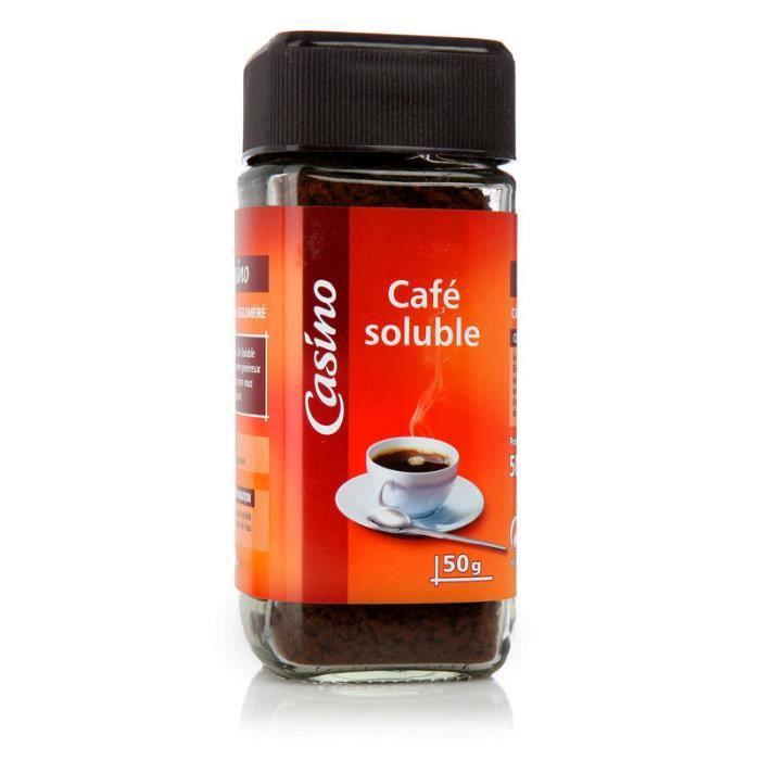 NESCAFE Café soluble Agglo Natural - 50 g