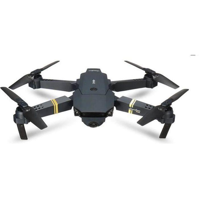 DRONE E58-2019 PRO X P DRONEX DRONE + 3 batteries avec caméra HD 720p et télécommande WiFi FPV
