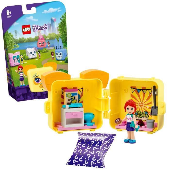 LEGO® Friends 41664 Le cube carlin de Mia Jouet sur le thème des animaux incluant un carlin et une figurine Mia, décoration chambre