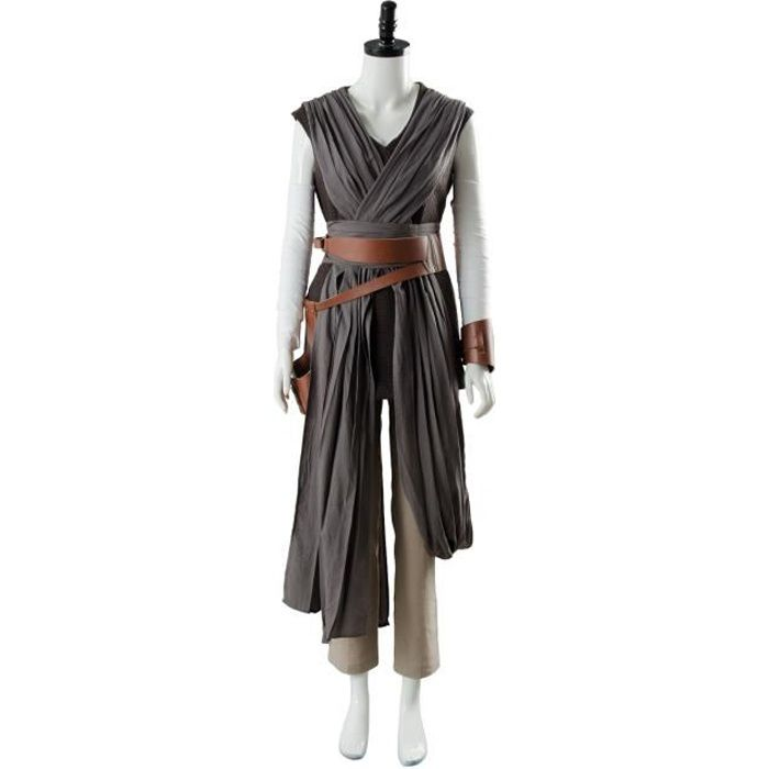 Star Wars 8 Rey Costume Déguisement Femme