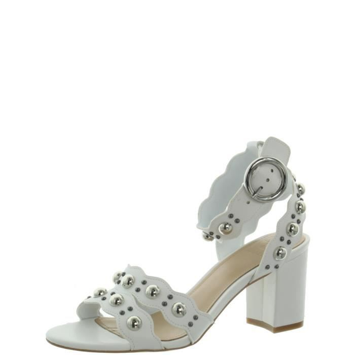 Sandales à talons Guess ref_guess46132 White