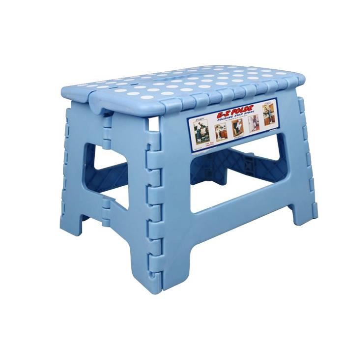 Tabouret pliable en plastique, chaise épaississante d'extérieur, petit banc tabouret de salle de bain, tabouret à c#6844