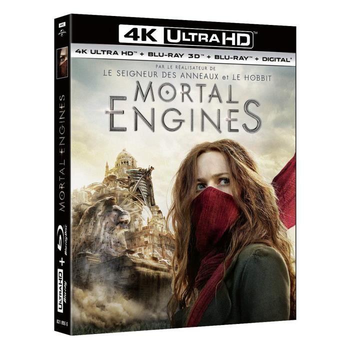 Mortal Engines Bluray 4K