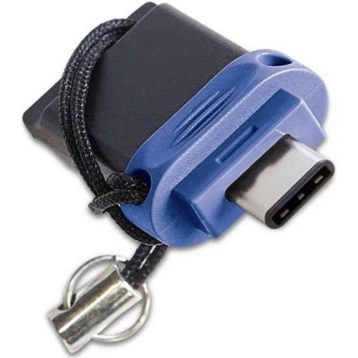 Verbatim Clé USB à double connectique de type C/USB 3.0 32 Go 49966