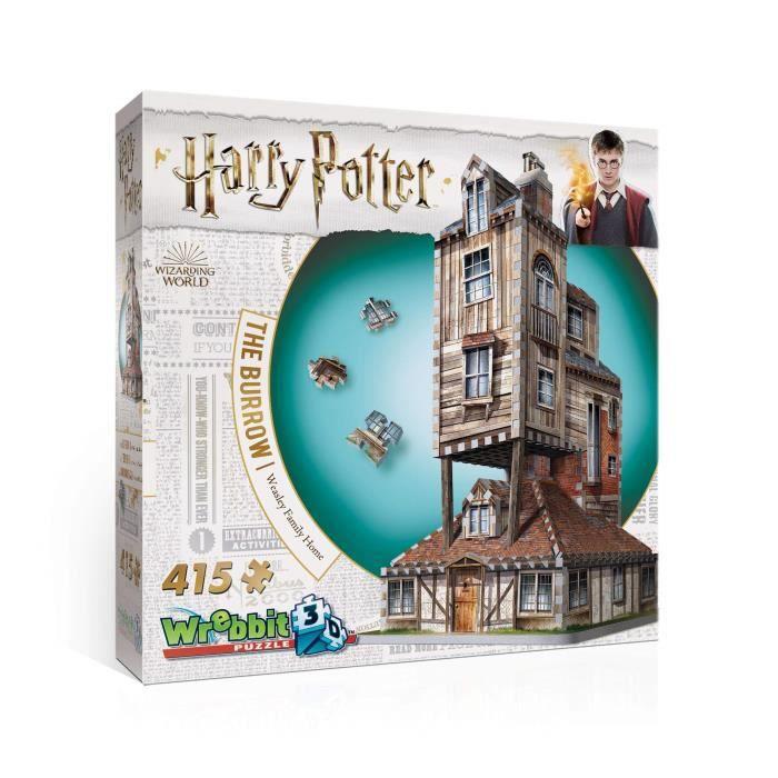 216 pièces Maison Alsacienne À Colombages Puzzle 3D