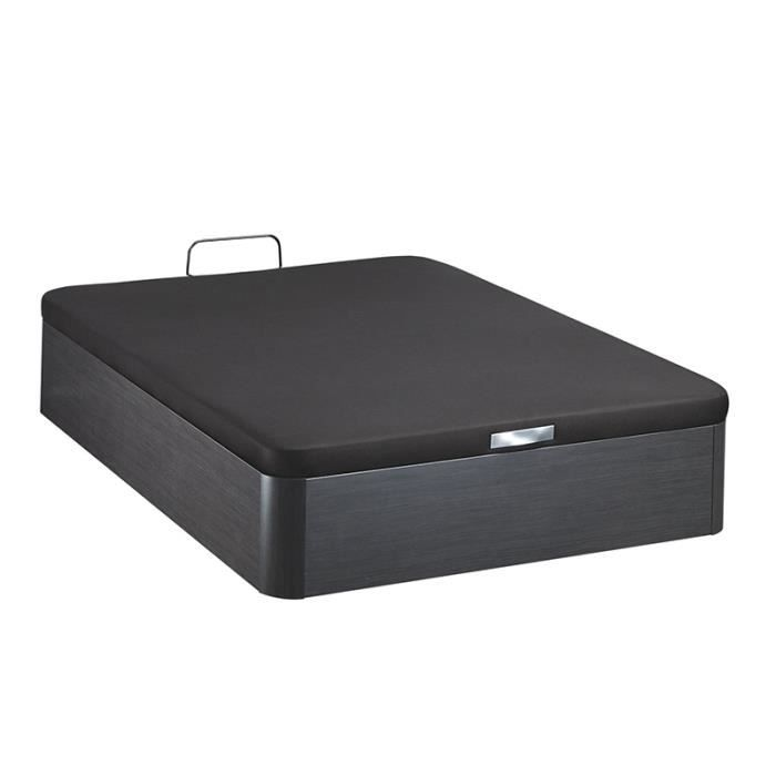 sommier lit coffre bultex 160x200 galaxie achat vente sommier cdiscount. Black Bedroom Furniture Sets. Home Design Ideas