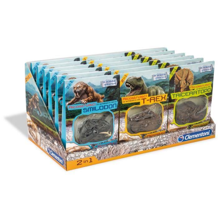 NATURE - ANIMAUX CLEMENTONI Fossiles de dinosaures