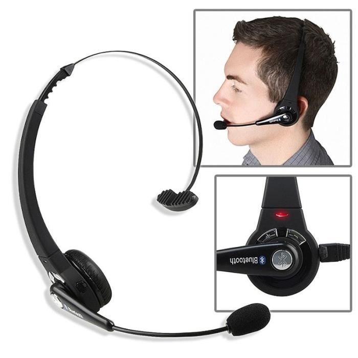 INSTEN® Casque Ecouteur Bluetooth stéréo